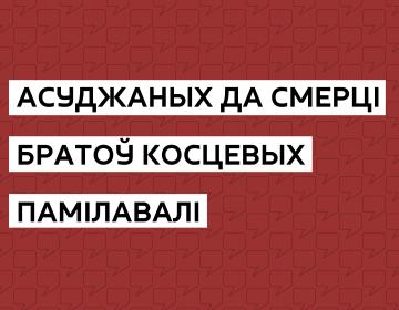 Другі выпадак памілавання ў гісторыі незалежнай Беларусі